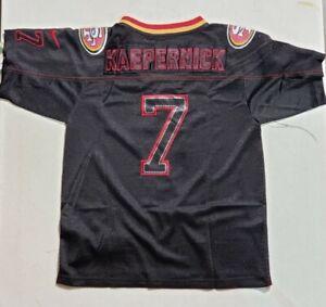 Details about Colin Kaepernick 7 San Francisco 49ers Jersey Youth M Medium Black