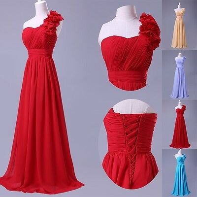 5 Style Long Wedding Bridesmaid Prom Ball Party Evening Dress Formal 2015 Choose