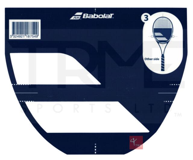 Babolat Tennis Racket String Stencil Logo Ebay