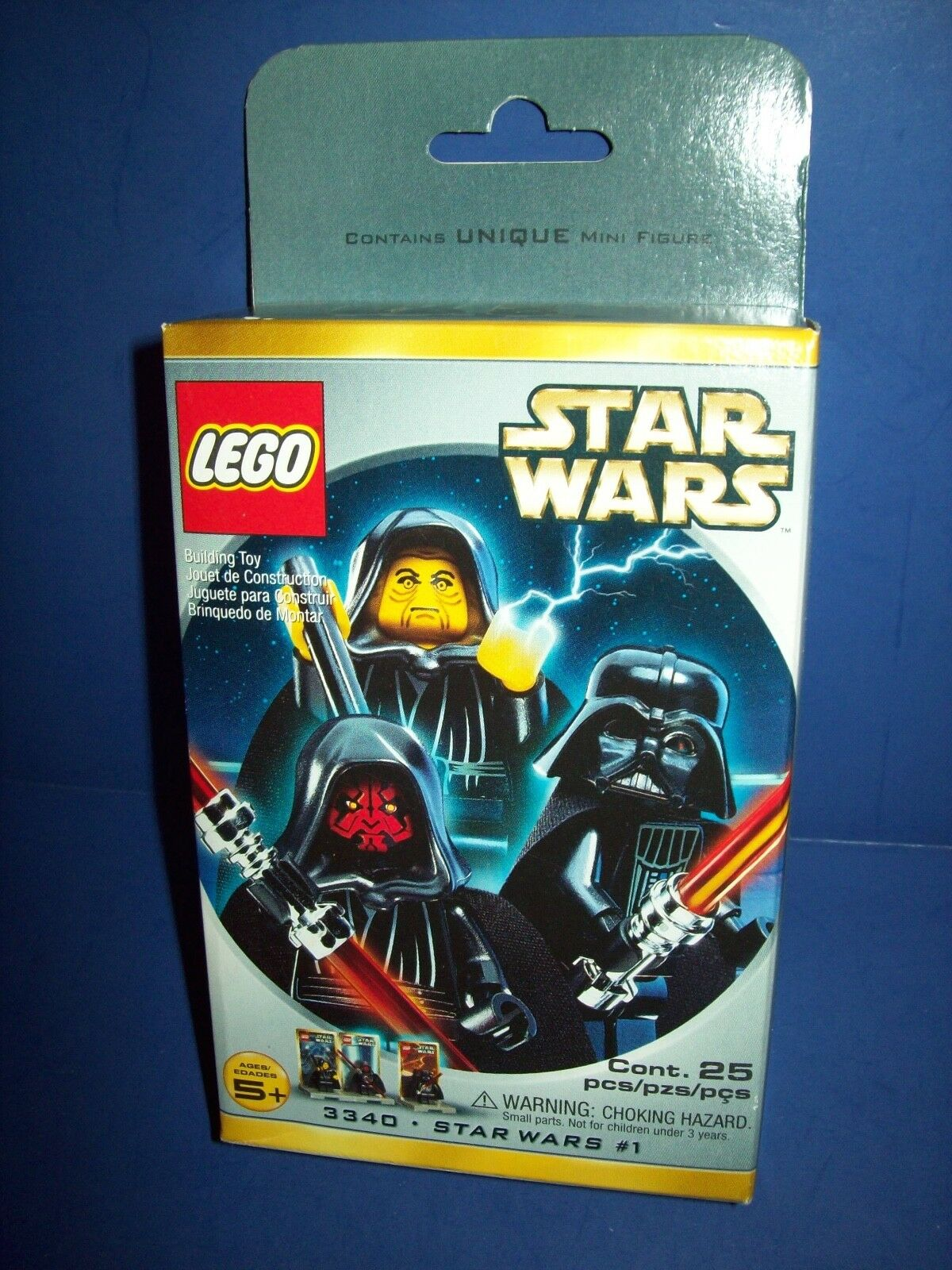 Lego Star Wars  1 (1018) 3340 NEW Factory Sealed HTF Darth Vader Palpatine Maul