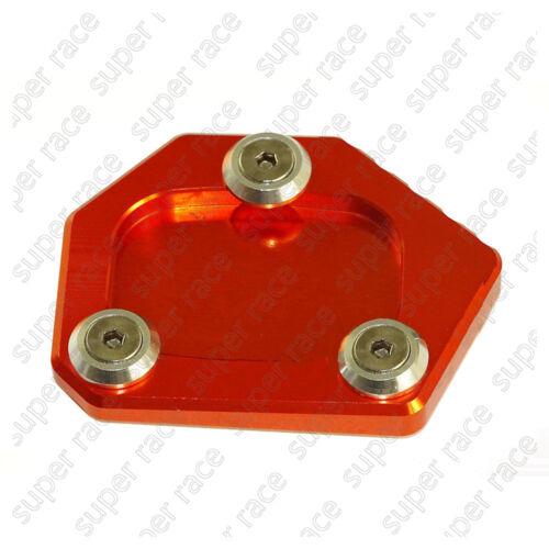 CNC Kickstand Side Stand Enlarger Pad For HONDA CBR250R 2011-2012 2013 14 15 MP