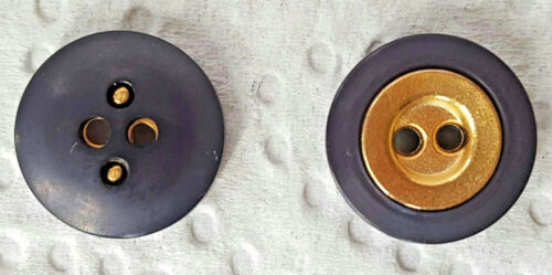 4 botones glamour de colores con oro de mediados de tamaños diversos gombok кнопка כפתור