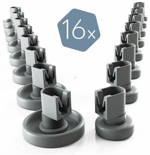16 Korbrollen Rollen Räder Geschirrspüler Ersatz für Progress PI3560X PI3570X