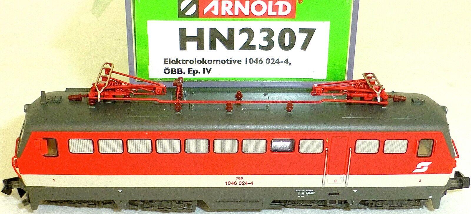ÖBB Series 1046 024 4 E-Locomotive E-Locomotive E-Locomotive Ep. IV Dss Kkk Arnold Hn2307 N 1 160 Ovp Hr3 2d0d5f