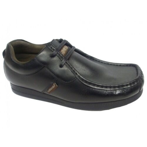 N52 Mens Shoes Base London Storm Waxy Black