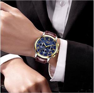 44321bdb7cf5 Broadcast Busines Reloj de moda para hombre Reloj cronógrafo de lujo ...