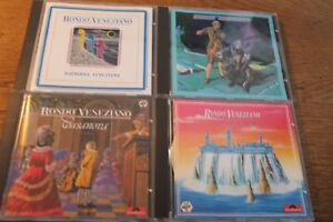 Rondo Veneziano [4 CD Alben] Rapsodia Veneziana + L'Odyssée De Venise + Casanova