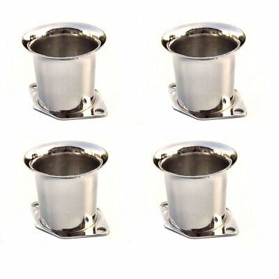 4X New Velocity Stacks Air Horn Trumpet Slides For Weber 40//44//48 IDF w Gaskets