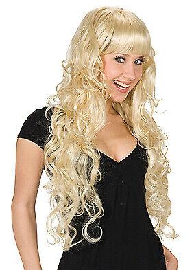 Boucles splendeur Blonde Perruque