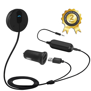 Bluetooth Car Kit Hands-Free Wireless Talking Music Dongle Magnetic Accessories