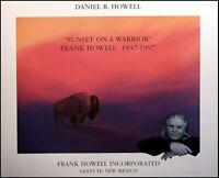 Dan Howell Sunset On A Warrior Offset Lithograph On Paper Make An Offer