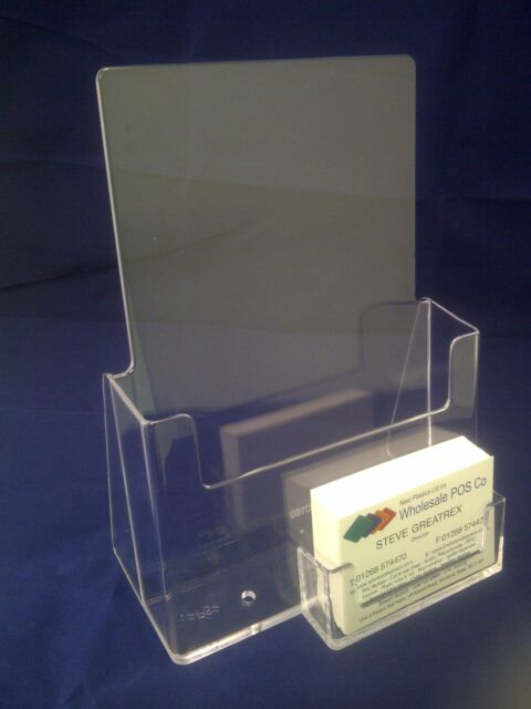 40 X A40 Leaflet Holder Brochure Dispenser Business Card Holders Gorgeous A5 Leaflet Display Stands