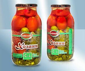Assorti-eingelegte-Gurken-Tomaten-Paprika-S-1-mit-Dill
