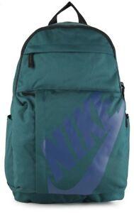 Image is loading Nike-Elemental-GREEN-Unisex-School-Gym-Travel-Backpack- d064d3960af0d