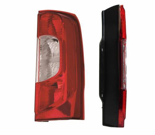 FIAT QUBO PORTELLONE POSTERIORE 2008 /> REAR TAIL LIGHT Lampada O//S DRIVER LATO DESTRO