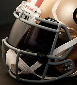 31805fd39 Image is loading CUSTOM-SAN-FRANCISCO-49ers-NFL-OAKLEY-Football-Helmet-