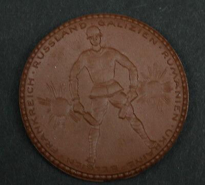 Aus Dem Ausland Importiert Meissen Medaille Ir 182 Unseren Gefallenen Freiberg 1922