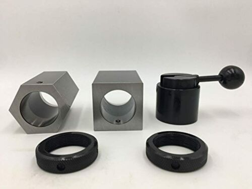 5C Square and Hex Collet Block Set With Case