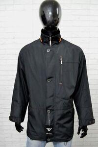 brand new d96fb 5d626 Dettagli su Giacca BUGATTI Uomo Man Taglia 52 Jacket Man Cappotto Nero  Giubbino Primaverile