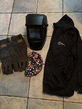 Auto Tint Welding Hood Jacket Gloves Amp Cap