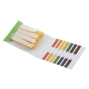 80 Strips Full pH 1-14 Test Indicator Litmus Paper Water