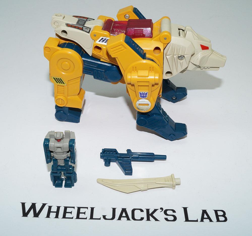 Weirdwolf  100% Complete 1987 Vintage Action Hasbro G1 Transformers Action Vintage Figure 990c39