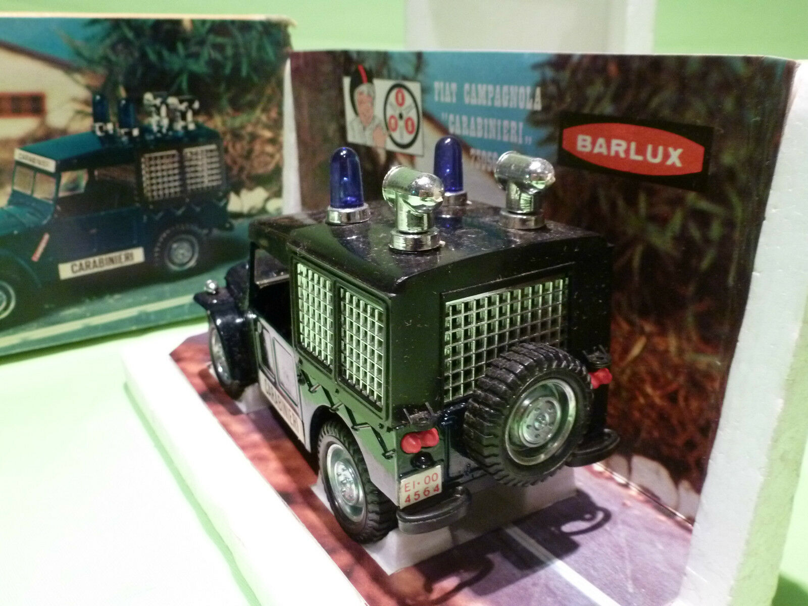BARLUX 73056 FIAT CAMPAGNOLA CARABINIERI - - - 1 25 - RARE SELTEN - EXCELLENT IN BOX 0c7b4b