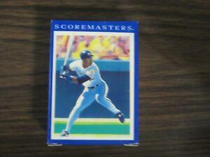 Details About 1989 Score Score Masters 42 Card Set Ken Griffey Jr Bo Jackson Nolan Ryan Brett