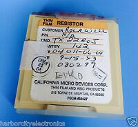 Tx22r0j California Micro Devices Resistor Thin Film Rockwell 142/units