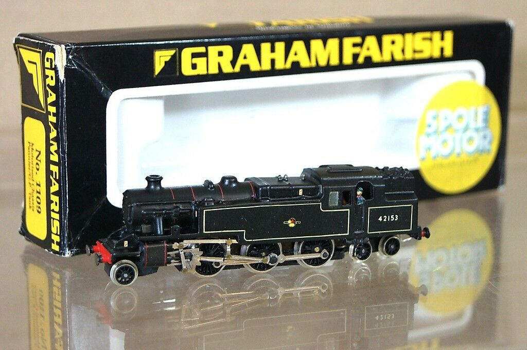 Graham farish kit built 1109 br 2 6 4 fairburn class 4 tank