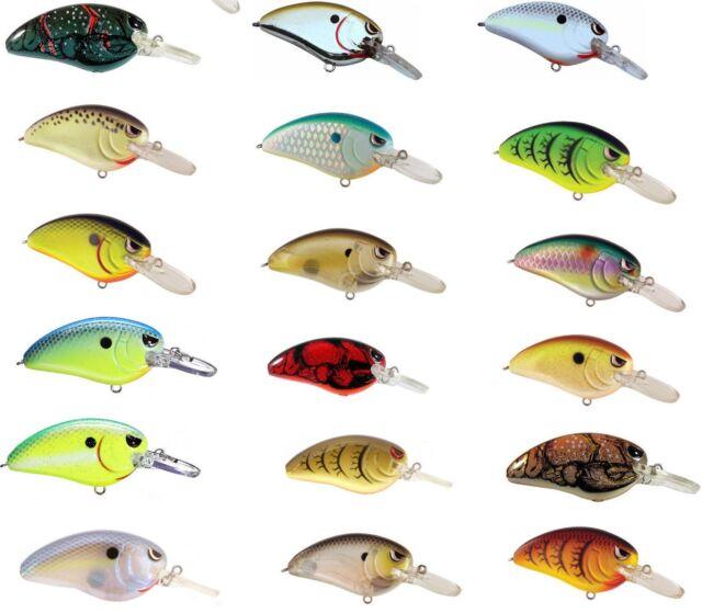 Spro Fat John 60 Crankbaits  Balsawood Crankbait Bass Fishing Lure