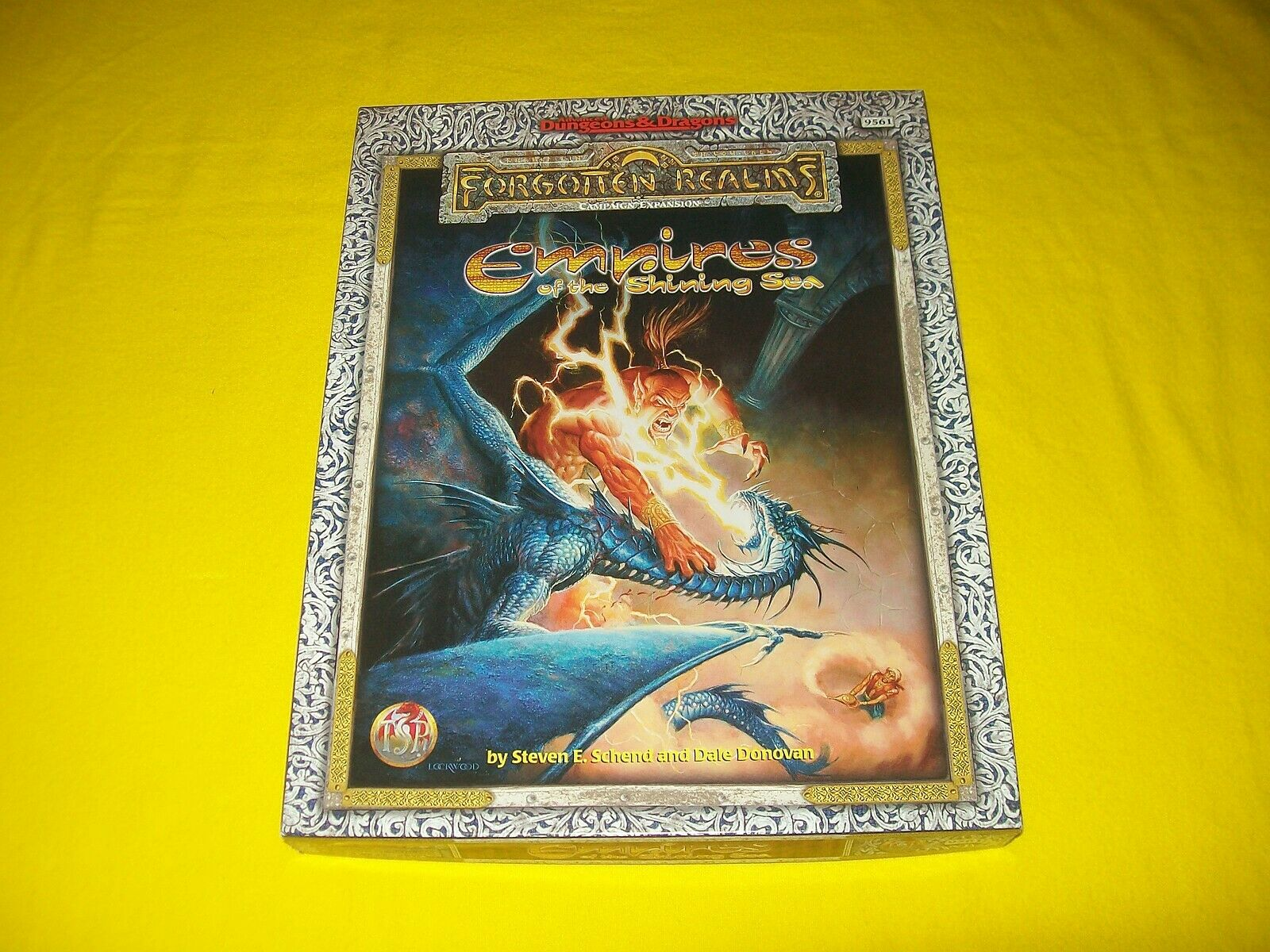 Imperios de los mares brillante Box Set Dungeons & Dragons AD&D Realms TSR 9561 - 2