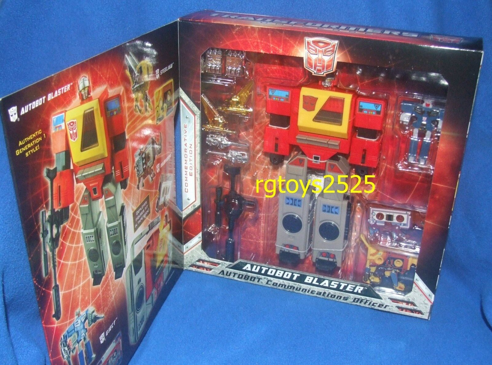 Transformers SDCC Commerorative Edition AUTOBOT BLASTER New G1 Factory Sealed