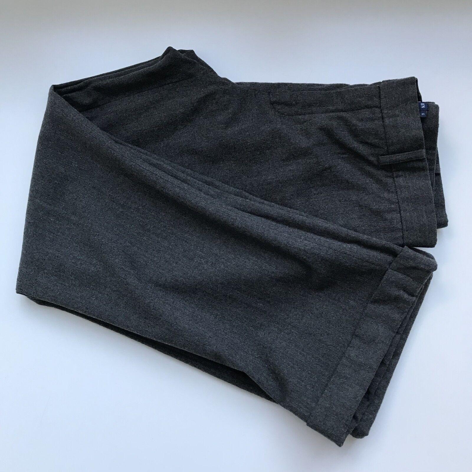 Ralph Lauren grau Wool Heatherot Cuffed Trouser   Dress Pants, AU Größe 10   28