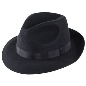 Christys-039-London-Hats-Chepstow-Trilby-Noir