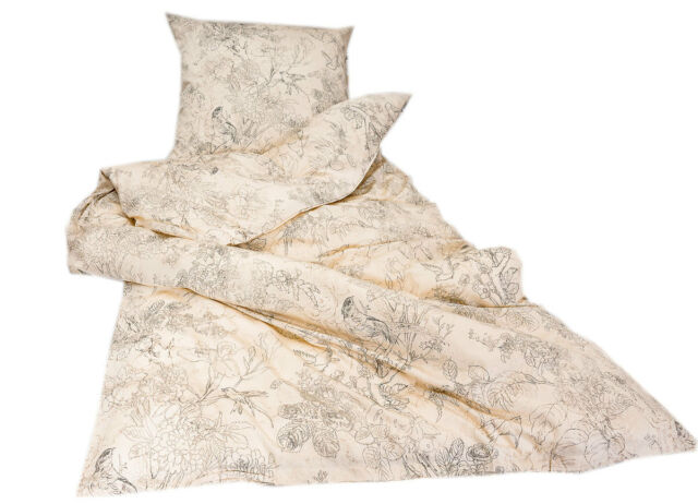 Zucchi Satin Bettwäsche Ancient Ramage V6 135x200cm Angebot