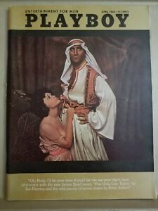Playboy-April-1964-Very-Good-Condition-Free-Shipping-USA