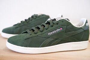 Détails sur Reebok Classic NPC UK Os Baskets Homme Chaussures Taille UK 7 10 Vert P47 afficher le titre d'origine