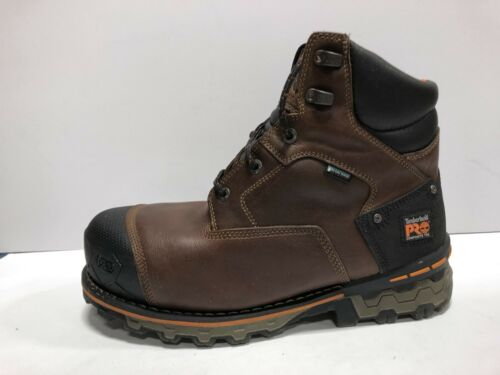 Timberland Boondock Mens Pro Work Boots Brown 11.5