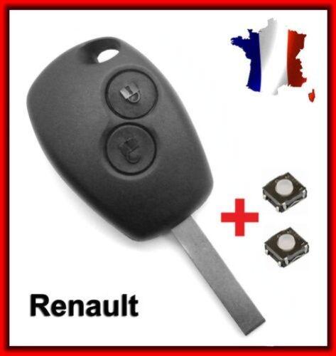 Fernbedienungschlüssel 2 Tasten Renault 1107+2 Schalter Schlüsselrohling
