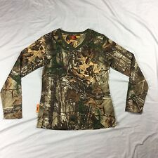 She Outdoor Apparel Realtree camouflage hunting long sleeve shirt S
