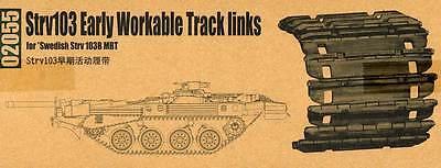 Trumpeter Strv103 early Tracks Panzerketten 1:35 Modell-Bausatz 103B Track kit