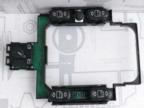 1 von 1 - Original Mercedes W210 Schalter-Set elektrische Fensterheber 2108200110 NEU!