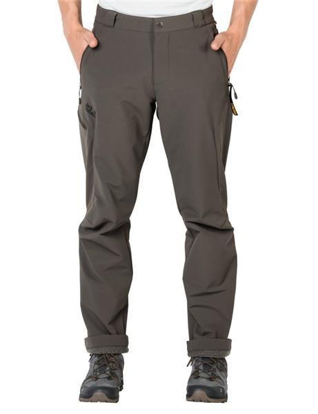 Jack Wolfskin Activate Thermic Pants Men Softshell-Hose olive  119 99
