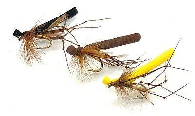 12 14 3 Daddy Longlegs Detached Dry Trout Flies Fishing Flies Sizes 10