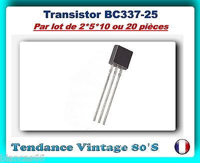 LOT AU CHOIX DE 2*5*10 OU 20 TRANSISTORS MOSFET BS170 FAIRCHILD NEUFS Original