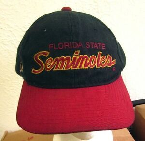 74c6de3e447 Image is loading FLORIDA-STATE-SEMINOLES-beat-baseball-cap-FSU-logo-