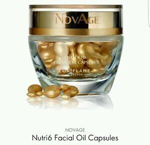 Oriflame-NovAge-Nutri6-Huile-Visage-Capsules-38-00-New-Vente
