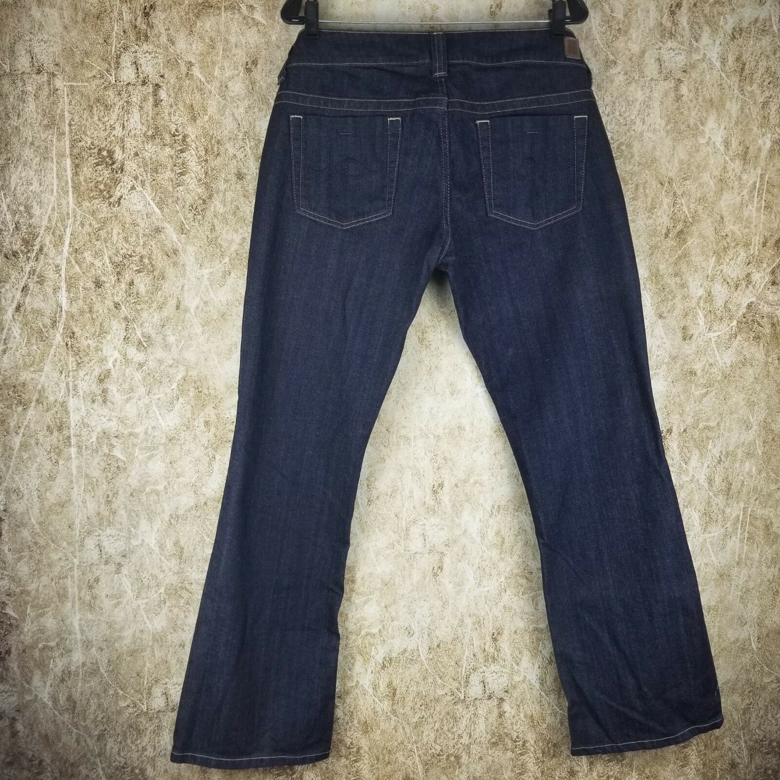 New w Tags Guess Daredevil 157 Low Rise Bootcut Stretch Jeans (Sz 32)
