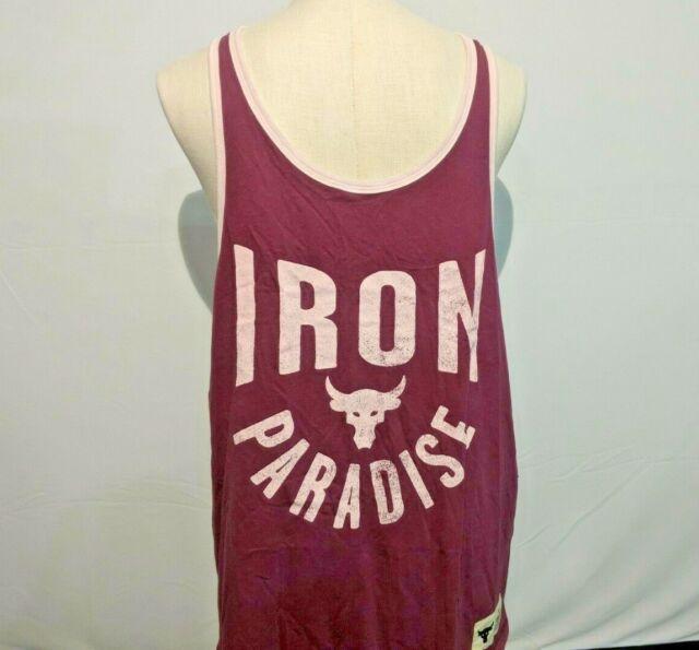 $35 Retail Value Boys/' Project Rock Iron Paradise Graphic T-Shirt